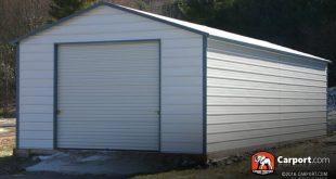 Steel garage  46