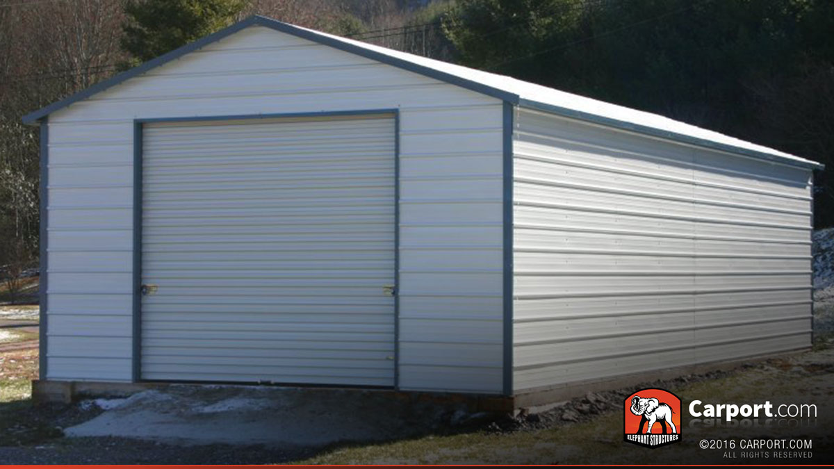 Steel garage – reliable and durable