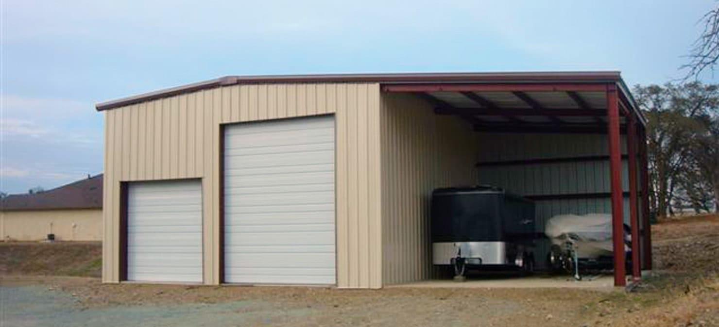 Steel garage  75