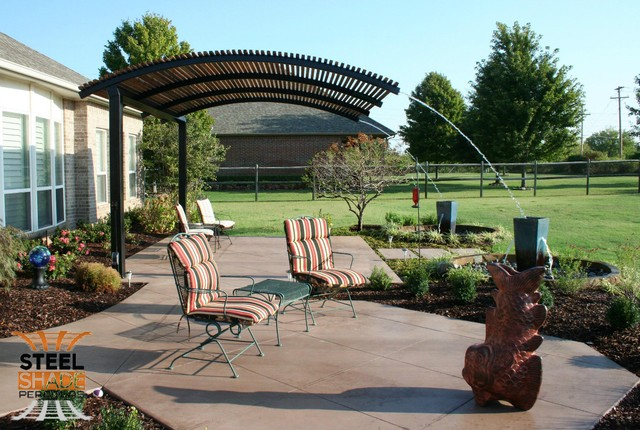 Choose steel pergolas to give a new looks