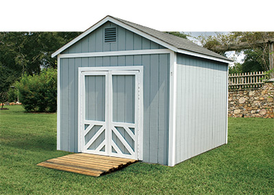 Storage sheds will enhance the elegance of home