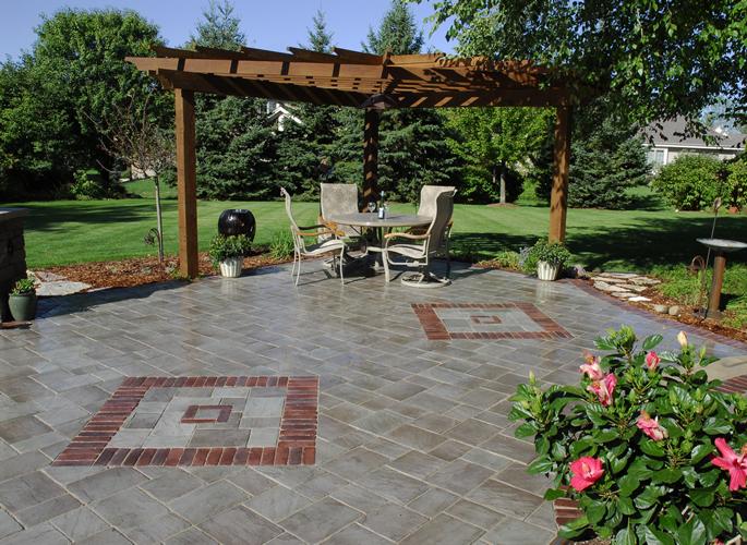 stunning paver patio  13