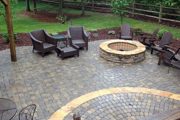 stunning paver patio  36