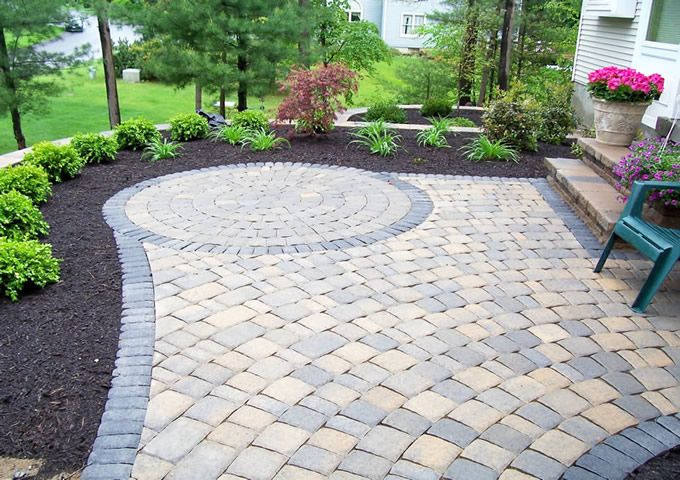 stunning paver patio  93