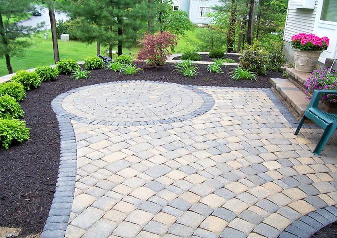 stunning paver patio  93