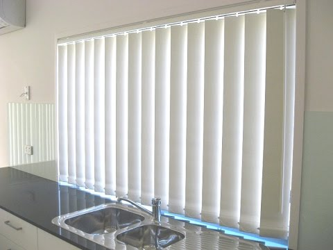 How to fix vertical window blinds