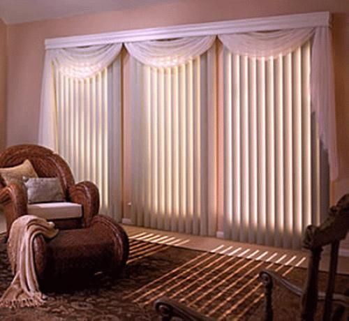 Buy from varieties of vertical window blinds to add unique appearances