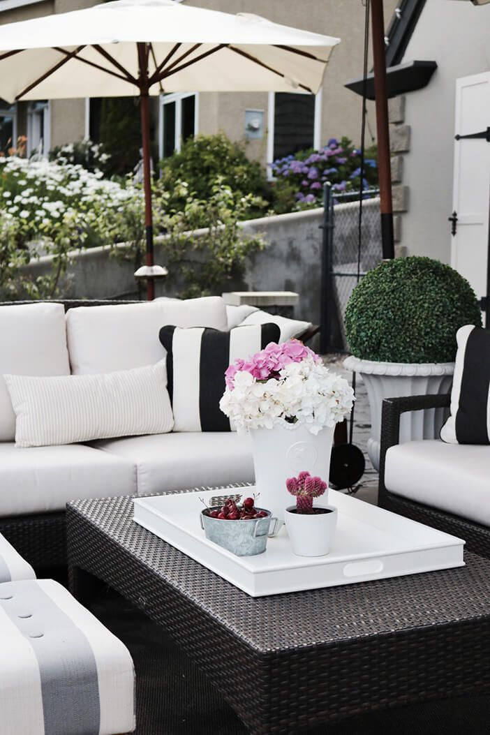 white outdoor furniture  13