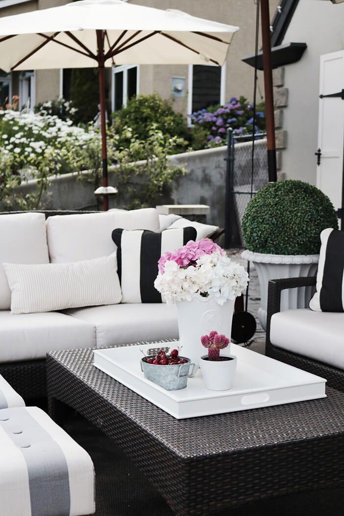white outdoor furniture  13
