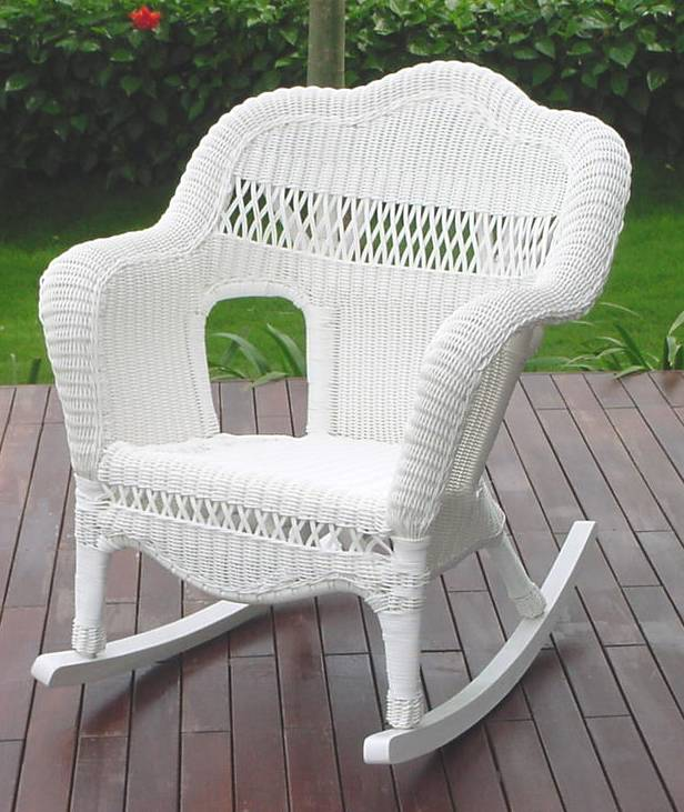 white wicker patio furniture  37