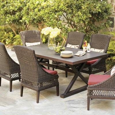 Wicker patio furniture  28