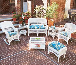 Wicker patio furniture  70