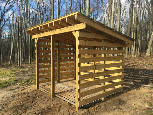 Keep Your Firewood Safe And Dry Through Wood Shed Plans