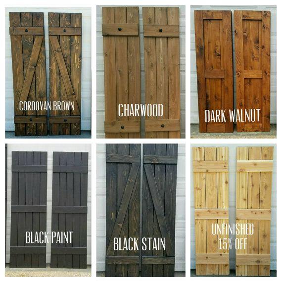 wood shutters  96