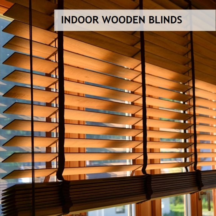 Wooden blinds  93