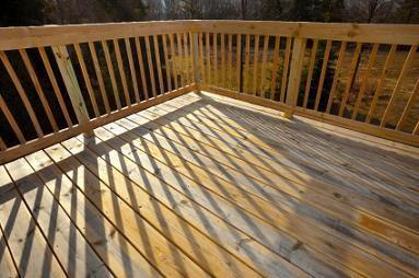 wooden deck 24