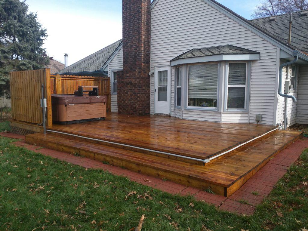 wooden deck  53