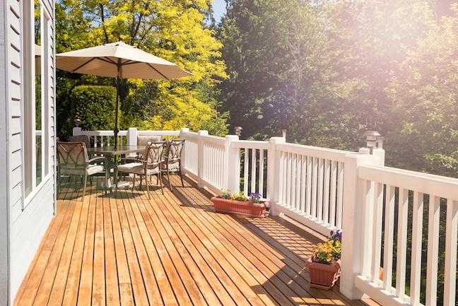 wooden deck 62