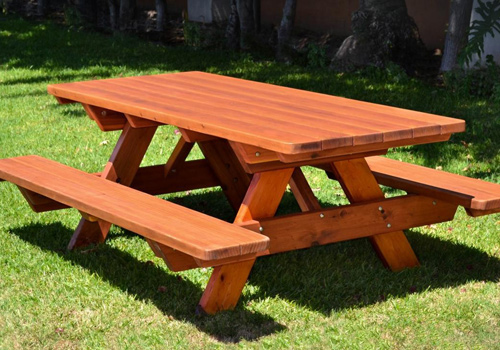 Wooden garden furniture  15