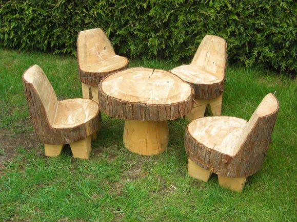 Wooden garden furniture  99