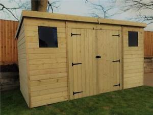 Wooden garden sheds  08