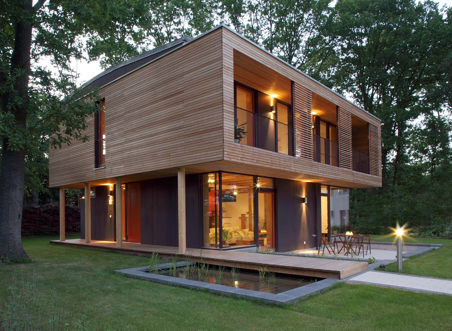 wooden house designs  55