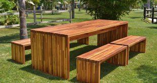 Wooden Outdoor furniture  01