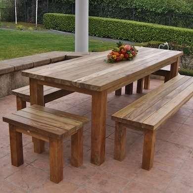 Wooden Outdoor furniture  33