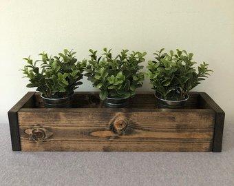 wooden planter boxes  16
