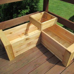 wooden planter boxes  19