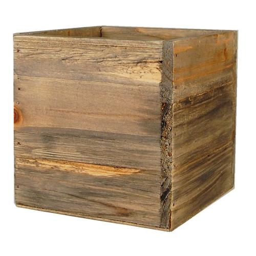 wooden planter boxes  43