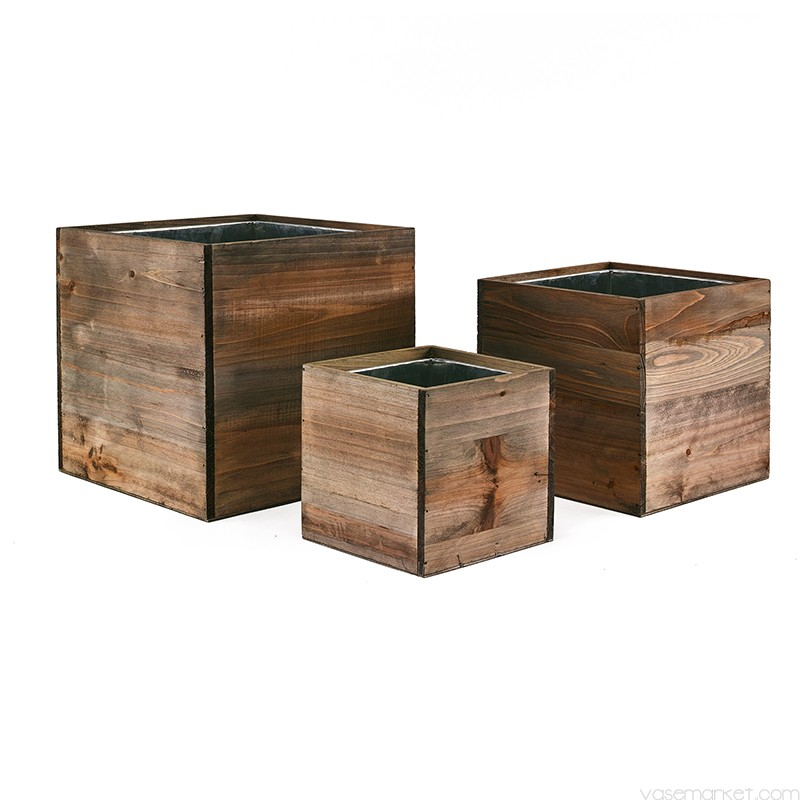 wooden planter boxes  56