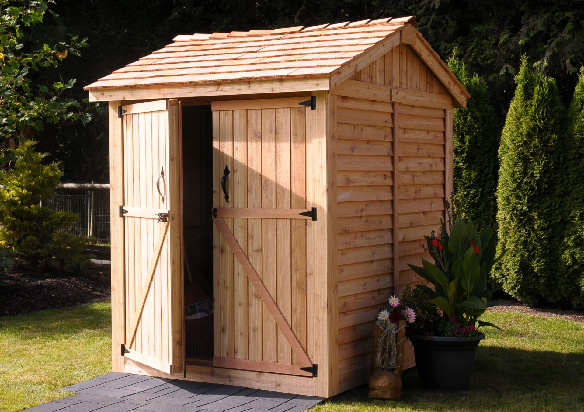 wooden sheds  13