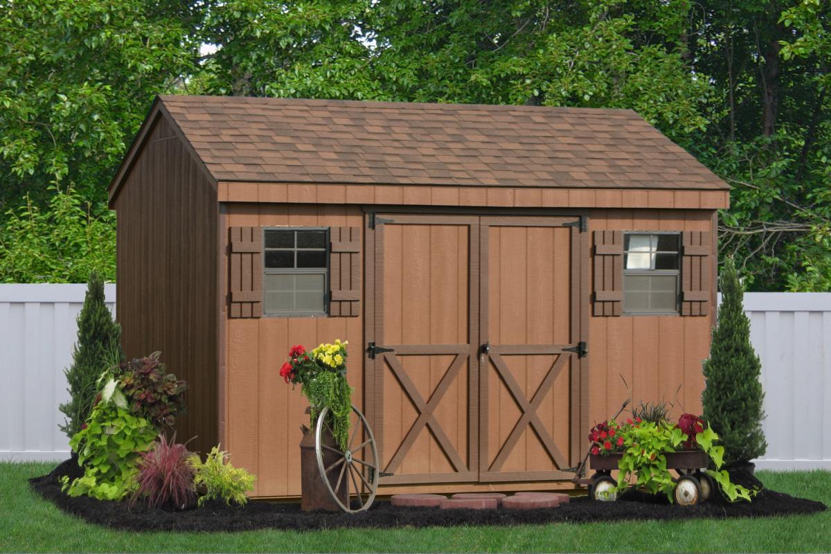 wooden sheds  60