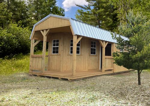 wooden sheds  76