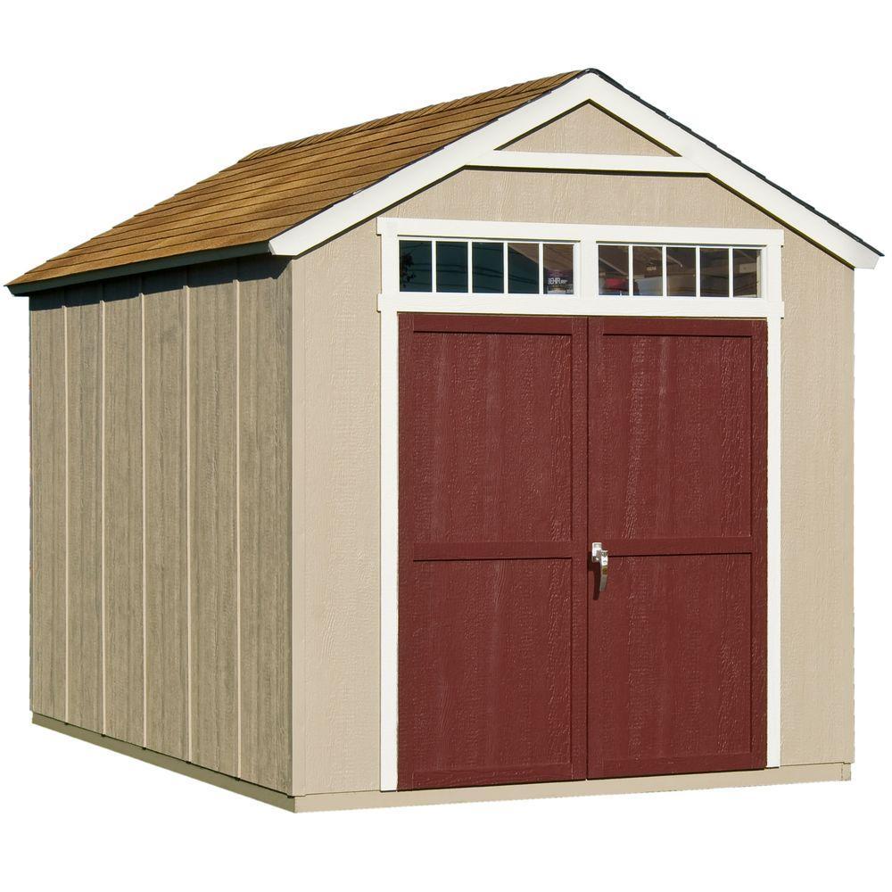 Wooden storage garden sheds  48