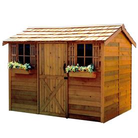 Wooden storage garden sheds  67