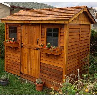 Wooden storage garden sheds  97
