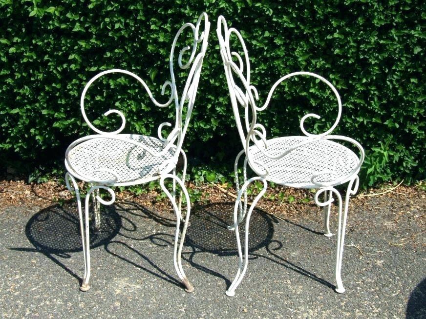 wrought garden iron furniture  06