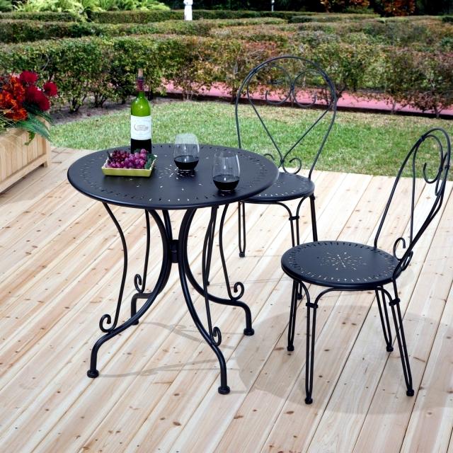wrought garden iron furniture  27