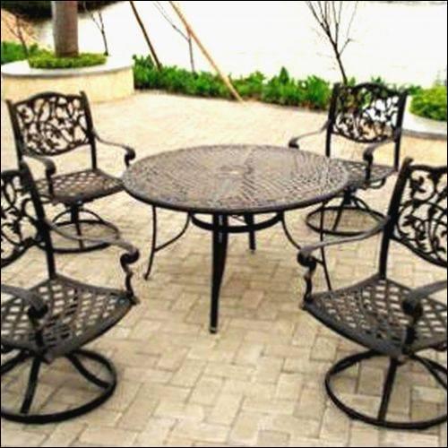 wrought garden iron furniture  57