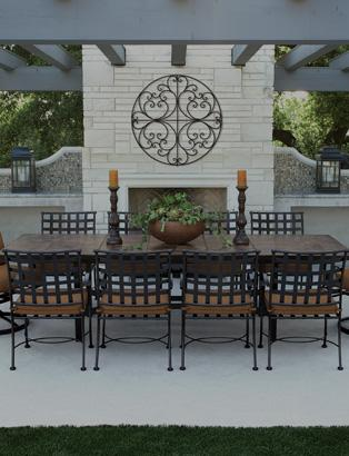 Wrought iron outdoor furniture  18