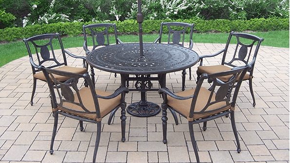 Wrought iron outdoor furniture for that exquisite look