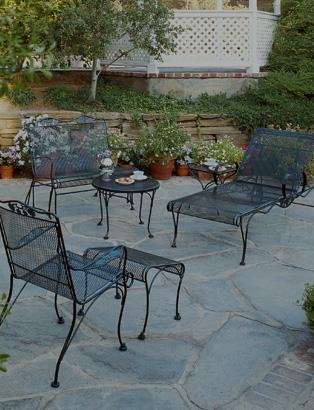 Wrought iron outdoor furniture  41