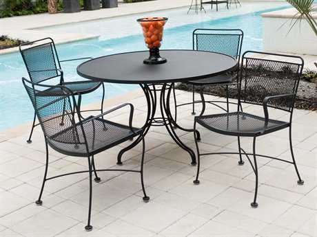 Wrought iron outdoor furniture  52