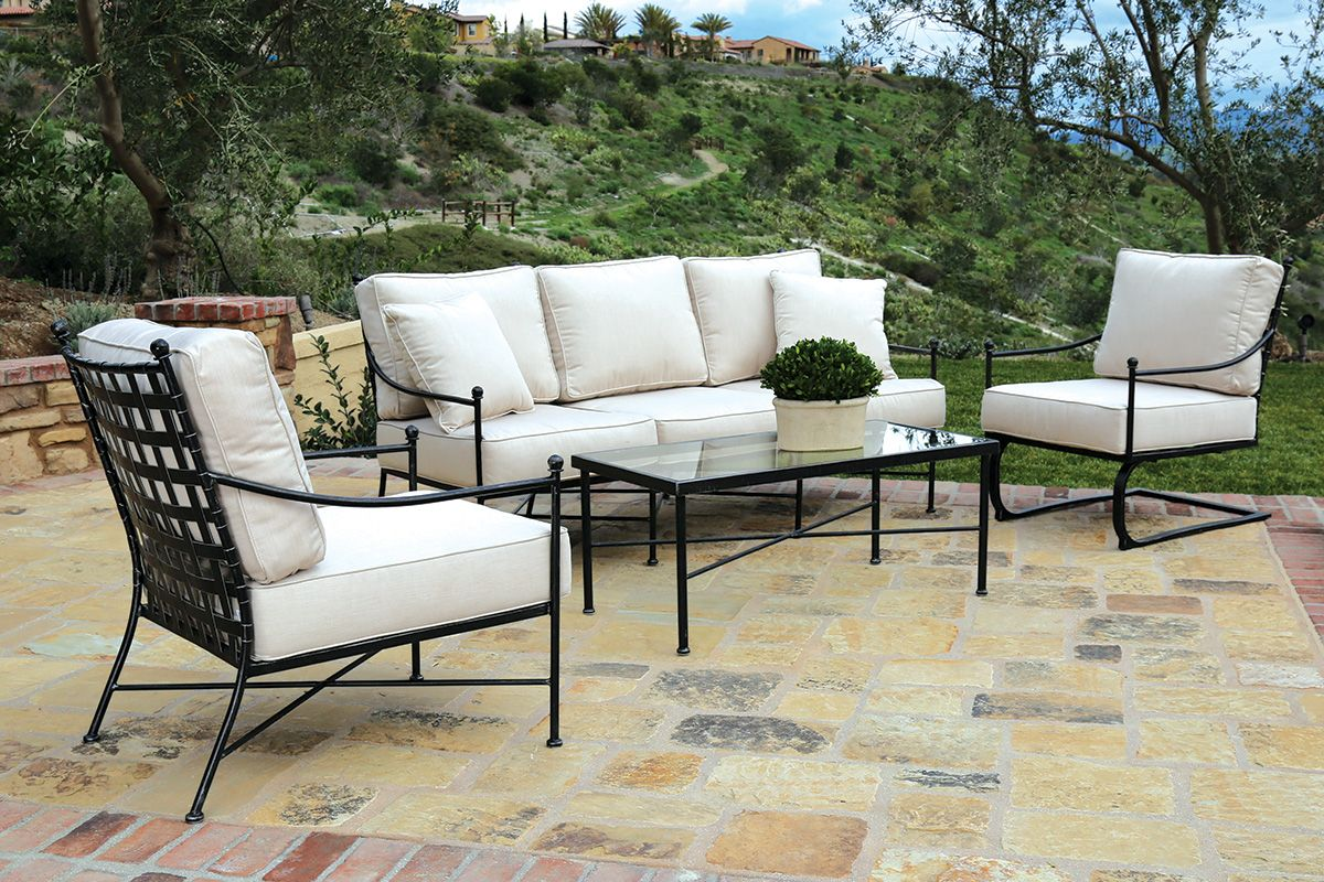 Wrought iron outdoor furniture  58