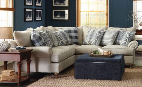 Paula Deen 2-Piece Sectional - Living Room