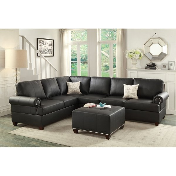 Shop Gunther 2-Piece Sectional Sofa With Ottoman - On Sale - Free