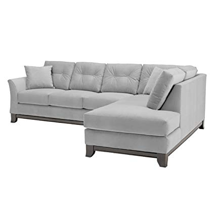 Amazon.com: Marco 2-Piece Sectional Sofa, Stone, RAF - Chaise on