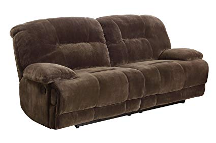 Amazon.com: Homelegance 9723-3 Double Reclining 2-Seater Sofa, Dark